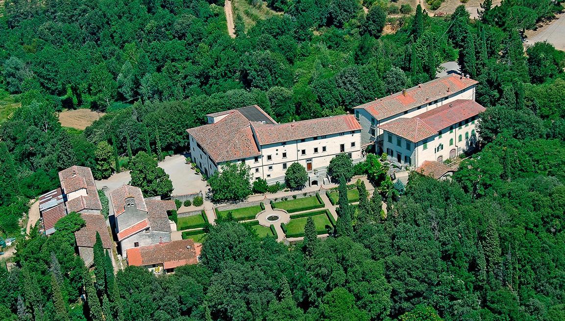 Villa vicino Arezzo e Firenze in Toscana – Poggitazzi