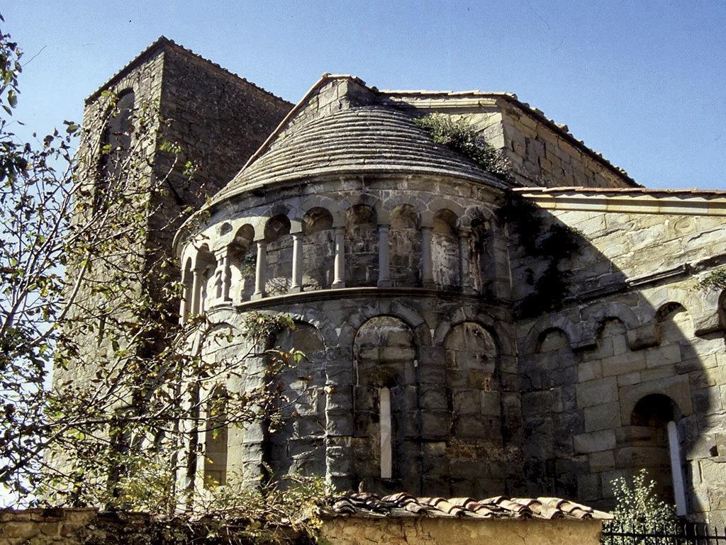la Pieve di San Pietro a Gropina - Poggitazzi