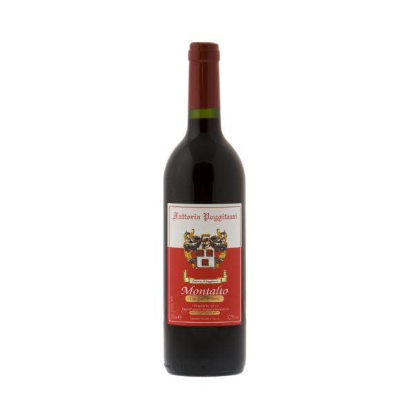 Montalto vino da tavola prodotto con uve Sangiovese e Merlot - PoggiTazzi