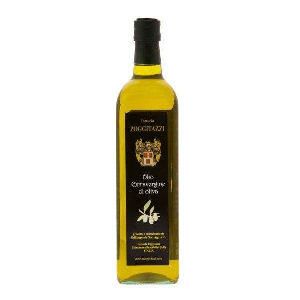 Olio Extravergine di oliva 1Lt Toscano - PoggiTazzi