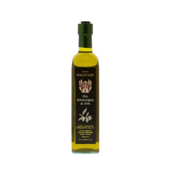 Toskana Reines Olivenöl 500ml - Poggitazzi