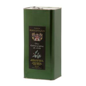 Toskana Reines Olivenöl 5Lt - Poggitazzi